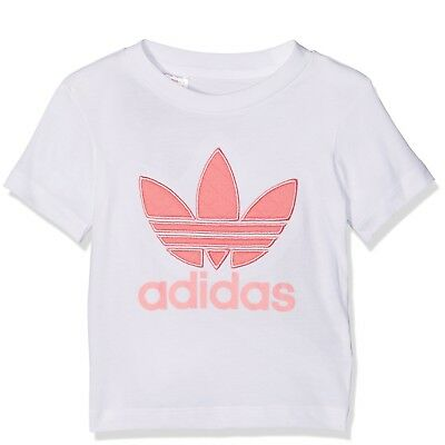 Adidas Originals Infant Baby Girls T-Shirt Top
