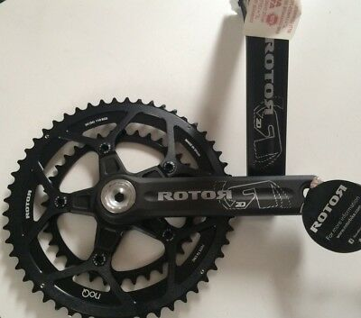 Rotor 2D30 Chainset, 52/36, 170mm, BRAND NEW OE