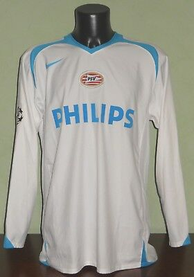 Maglia WILSON #36 PSV MATCH WORN / ISSUED Champions League 2005/06 away LS shirt