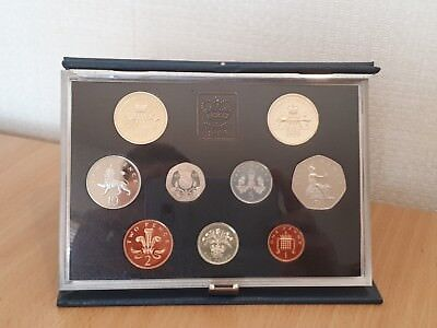 ROYAL MINT Proof Coin Set Blue 1989