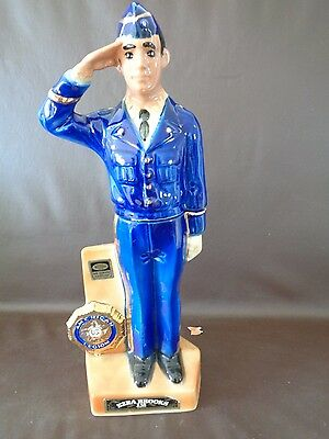 Vintage 1972 Ezra Brooks Amer. Legion 54th Nat Conv Decanter-Empty (Cat.#1A005)