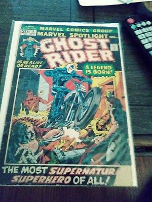 Marvel spotlight # 5 Aug issue 1972 Ghost Rider first appearance comicbook VG
