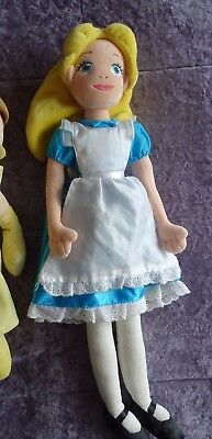 Alice In Wonderland Large Plush Doll From The Disney Store