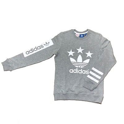 Adidas Originals Boys Sweatshirt Jumper 11-12 & 13-14 YEARS ONLY