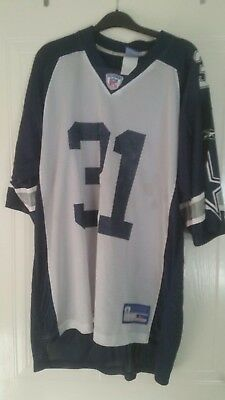 american football jersey nfl size l dallas cowboys