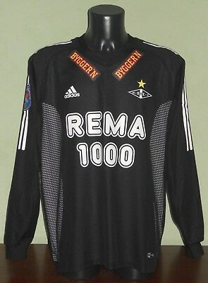 Maglia STRAND #6 Rosenborg MATCH WORN / ISSUED Tippeligaen 2003 away L/S shirt