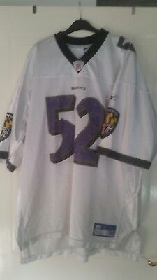 american football jersey nfl baltimore ravens size 2xl