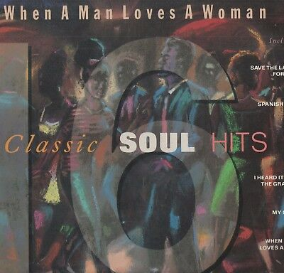 'When A Man Loves A Woman - 16 Classic Soul Hits' UK Performance LP.  Ex!