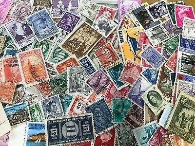 Unsorted Stamps - Various Countries & Values  - ACTUAL STAMPS SHOWN # lot 1