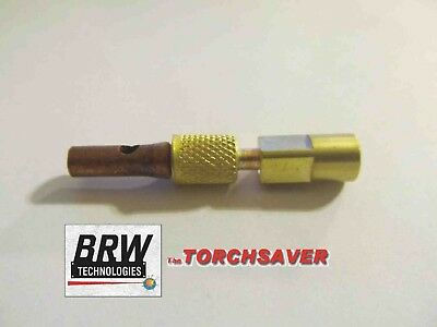 Weldcraft WP-20 TIG Torch water hose / power cable fitting torch end - CK 2PF1
