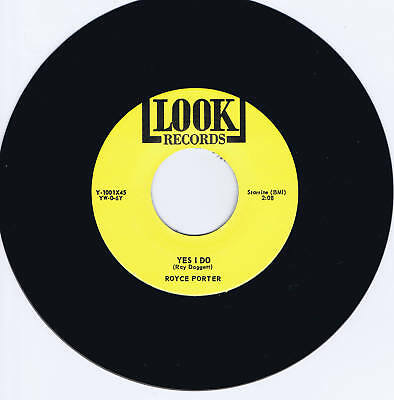 Royce Porter - Yes I Do / Lookin - 2 Killer Rockabilly Boppers  - Repro