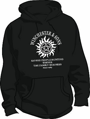 Supernatural Winchester and Sons Hoodie - Dean or Sam Winchester