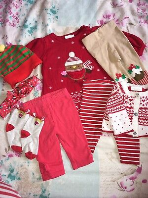 Baby Girls First Christmas Bundle Up to 1 Month 0-3 Months Next Mini Club Disney
