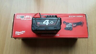 Milwaukee M18 CAG115XPDB-0 with battery