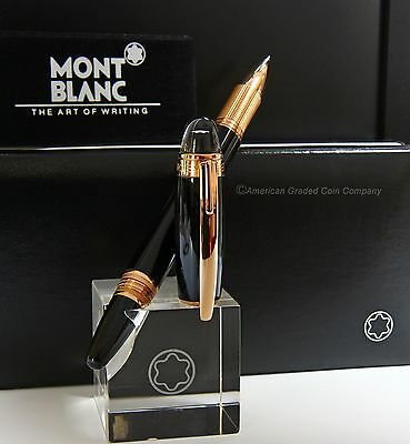 MontBlanc Starwalker Red-Gold  Rollerball/Fineliner #105652 -ALL NEW & PRISTINE!