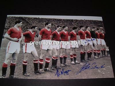 Manchester United Fc Bill Foulkes Scanlon 1958 Busby Babes Signed Reprint Photo