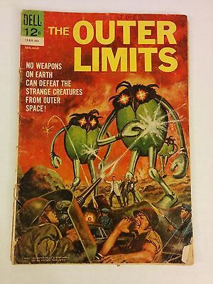 Dell The Outer Limits #1 (1964) Comic Book First Issue SciFi Silver Age