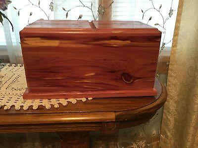 Cedar Wood Companion Cremation Urn ADULT