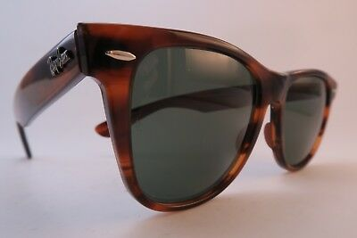 Vintage B&L Ray Ban Wayfarer II sunglasses BL etched lens made in the USA