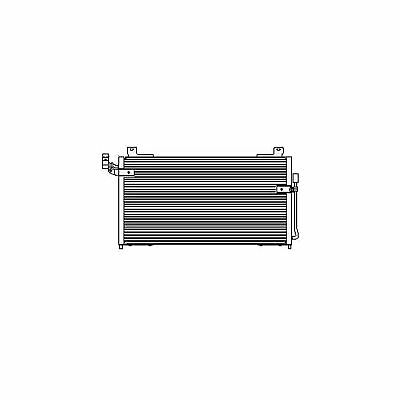 Delphi Air Con Condenser Genuine OE Quality Replacement Part