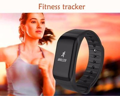 Smart Bracelet Watch Fitness Tracker, Heart rate and blood Pressure Measurement