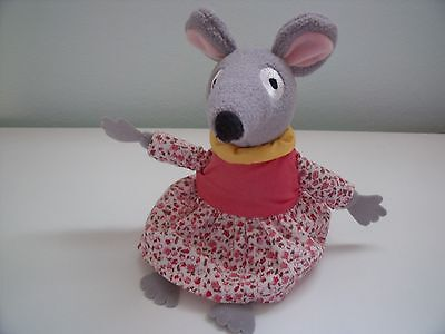 Bagpuss Lizzie  Mouse Soft Toy 2009 By Posh Paws Approx 8.5 Inches