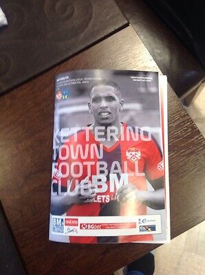 22/10/2016.   Kettering Town V  Weymouth