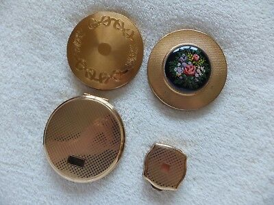 Vintage Powder / Cosmetic Compacts Job Lot