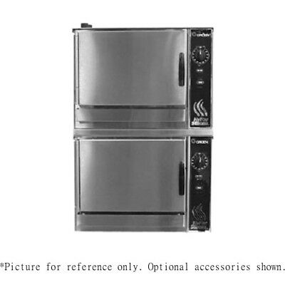 Groen (2)HY-3EF Double-Stacked HyperSteam Electric Convection Steamer