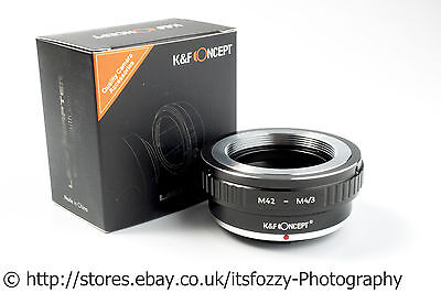 K&F Concept M42 to M43 Adapter M42 to Micro Four Thirds MFT Adapter