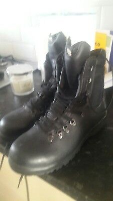 Altberg Peacekeeper black boots size 10.5