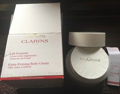 Clarins Extra Firming Body Cream 200ml Sealed