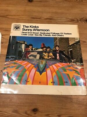 The Kinks Sunny Afternoon Lp Marble Arch Uk 1st Press
