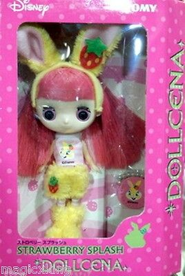 Tomy Disney Dollcena Strawberry Splach Doll Girl Figure Limited Special RARE