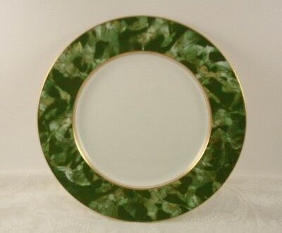 Aynsley China ONYX Green Dinner Plate 10 5/8""