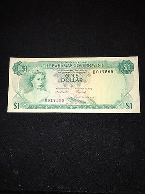 The Bahamas Government $1 Banknote 1965 P186
