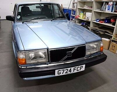 1989 G, VOLVO 240 GL GENUINE 53k SUPERB CONDITION THROUGHOUT