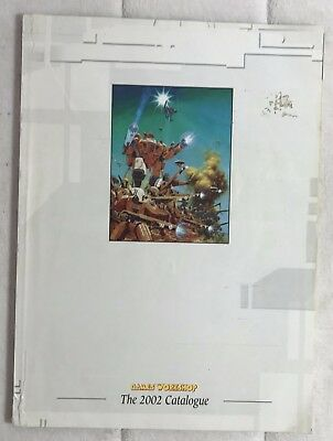 Games Workshop/Citadel Catalogue 2002, VERY RARE, Full Colour, 160 pages, OOP