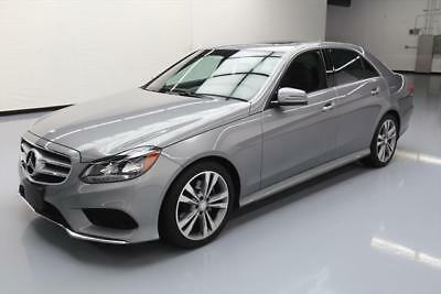 2015 Mercedes-Benz E-Class Base Sedan 4-Door 2015 MERCEDES-BENZ E350 SPORT PREMIUM SUNROOF NAV 26K #093959 Texas Direct Auto