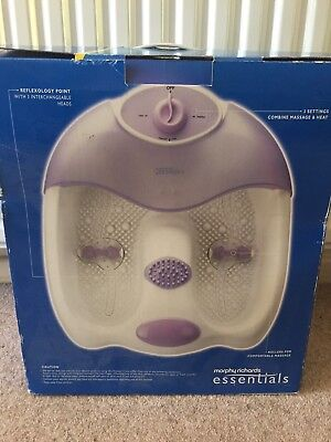Morphy Richards Essentials Foot Spa used once