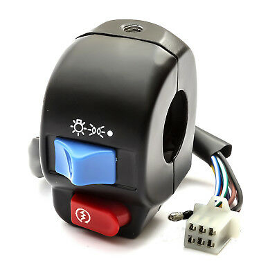 Chinese 50cc Scooter Right Hand Start Switch With Wiring & Plug Big Seller