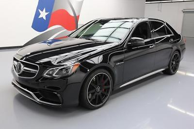 2016 Mercedes-Benz E-Class  2016 MERCEDES-BENZ AMG S E63 4MATIC AWD PANO NAV 14K MI #248596 Texas Direct