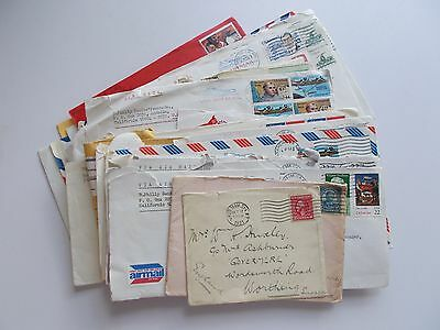 USA - 50 assorted commercial covers. Mixed condition, see images below.