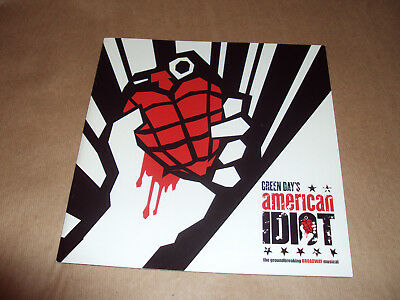 Green Day - Broadway Musical American Idiot Tour Program - Japanese Rare New