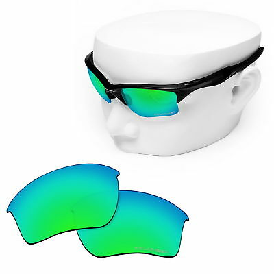 071fe02916b OOWLIT Replacement Lenses for-Oakley Half Jacket 2.0 XL POLARIZED - Green  Mirror