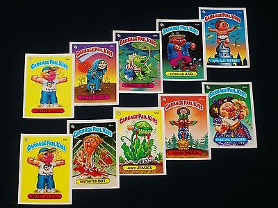 GARBAGE PAIL KIDS - 1986 3rd Series Complete NO COPYRIGHT Set - 88 Cards EX -OS3