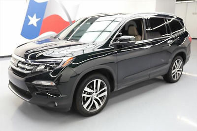 2016 Honda Pilot Elite Sport Utility 4-Door 2016 HONDA PILOT ELITE AWD 7-PASS SUNROOF NAV DVD 11K #106169 Texas Direct Auto
