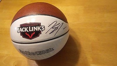Rare Jack Links Signed Smeared Autograph Karl Anthony Towns Basketball