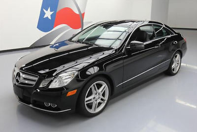 2011 Mercedes-Benz E-Class Base Coupe 2-Door 2011 MERCEDES-BENZ E350 COUPE P1 PANO SUNROOF NAV 50K #087979 Texas Direct Auto