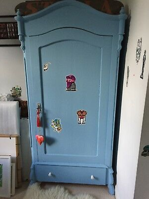 Vintage French Child's Armoire